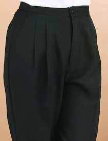 Womens black wait staff trousers